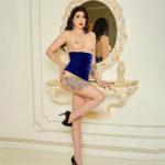Sabiene Hot Top Model through masseuse escort agency Krefeld for pain relief massage service partner search sex