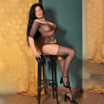 Nicoletta Promi Dame über Masseuse Escortagentur Essen für Body Massage Service mit Fusserotik Sex bestellen